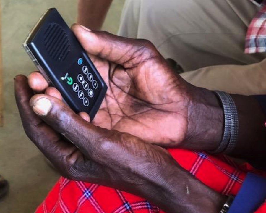 Kenya Hope's Audio Bible Turns Illiterate man Into an Evangelist