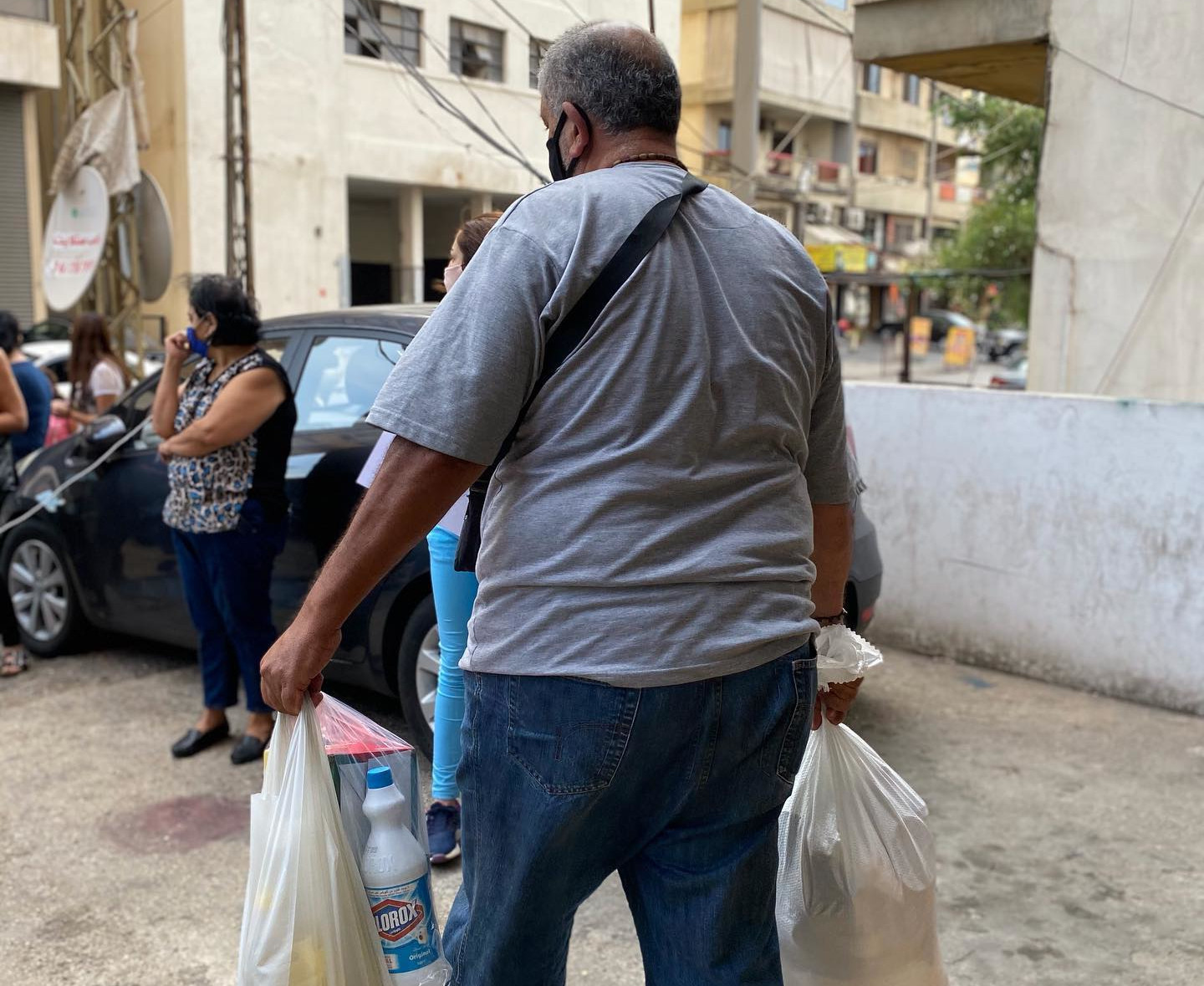 As Lebanon Begins to Emerge from Lockdown, Triumphant Mercy Delivers Food Door-to-door to People Going Hunger