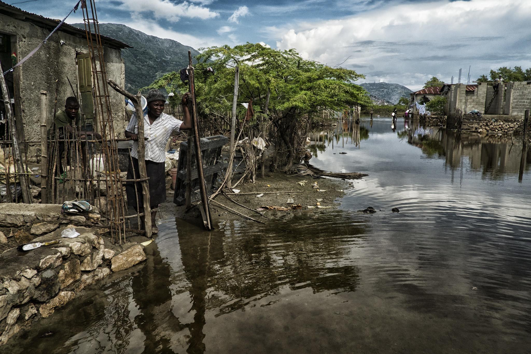 Rain and flooding devastates northern Haiti