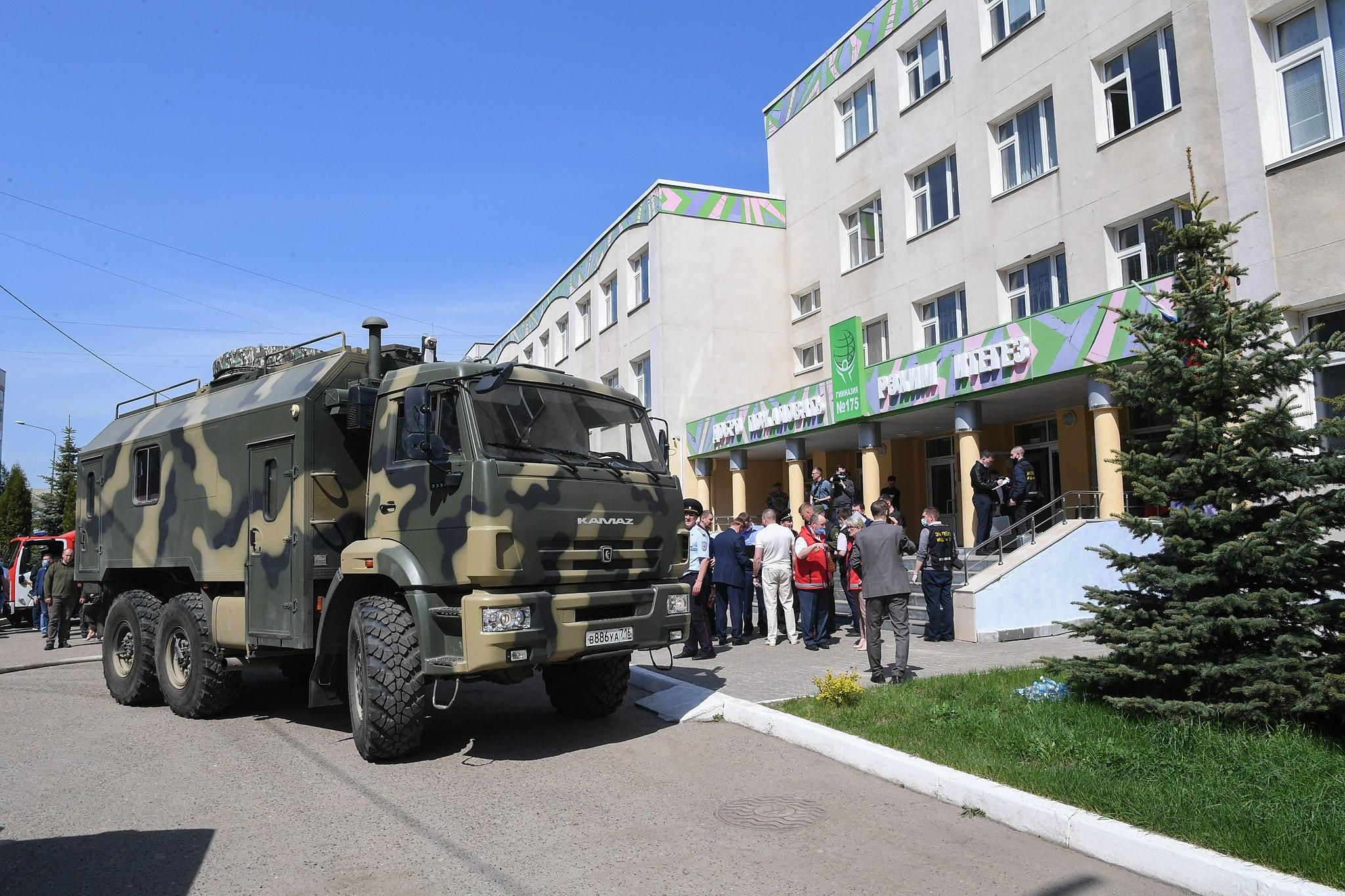 Russian school shooting kills 9