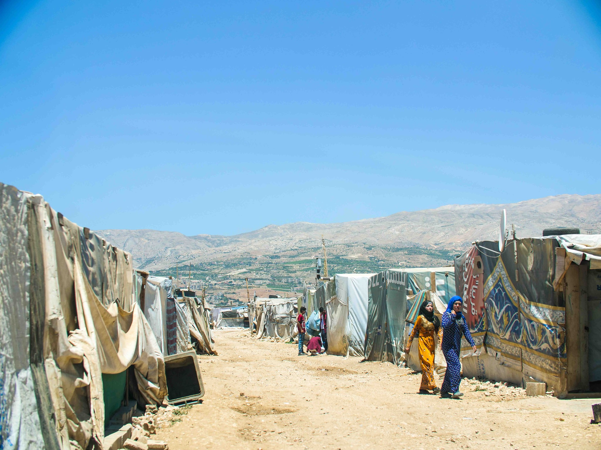 Syrian refugees vulnerable as Lebanon nears collapse