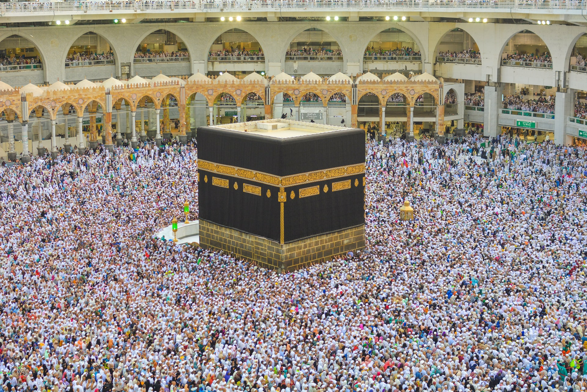 Millions of Muslims seek God in Saudi Arabia during Ramadan