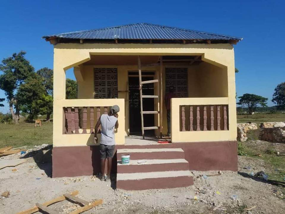 For Haiti With Love's Starter Homes Shelter Single Mothers in Haiti