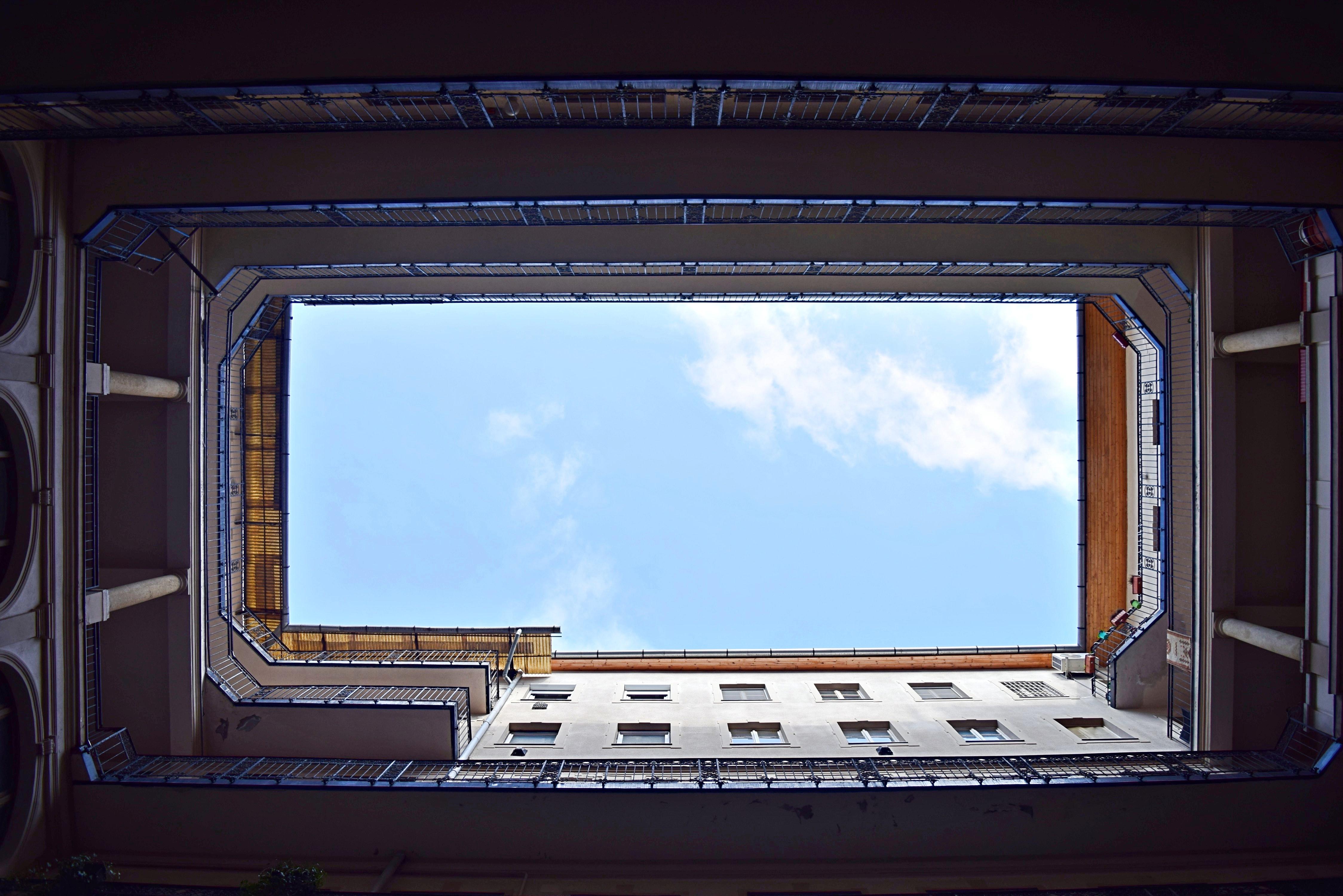 prison, sky
