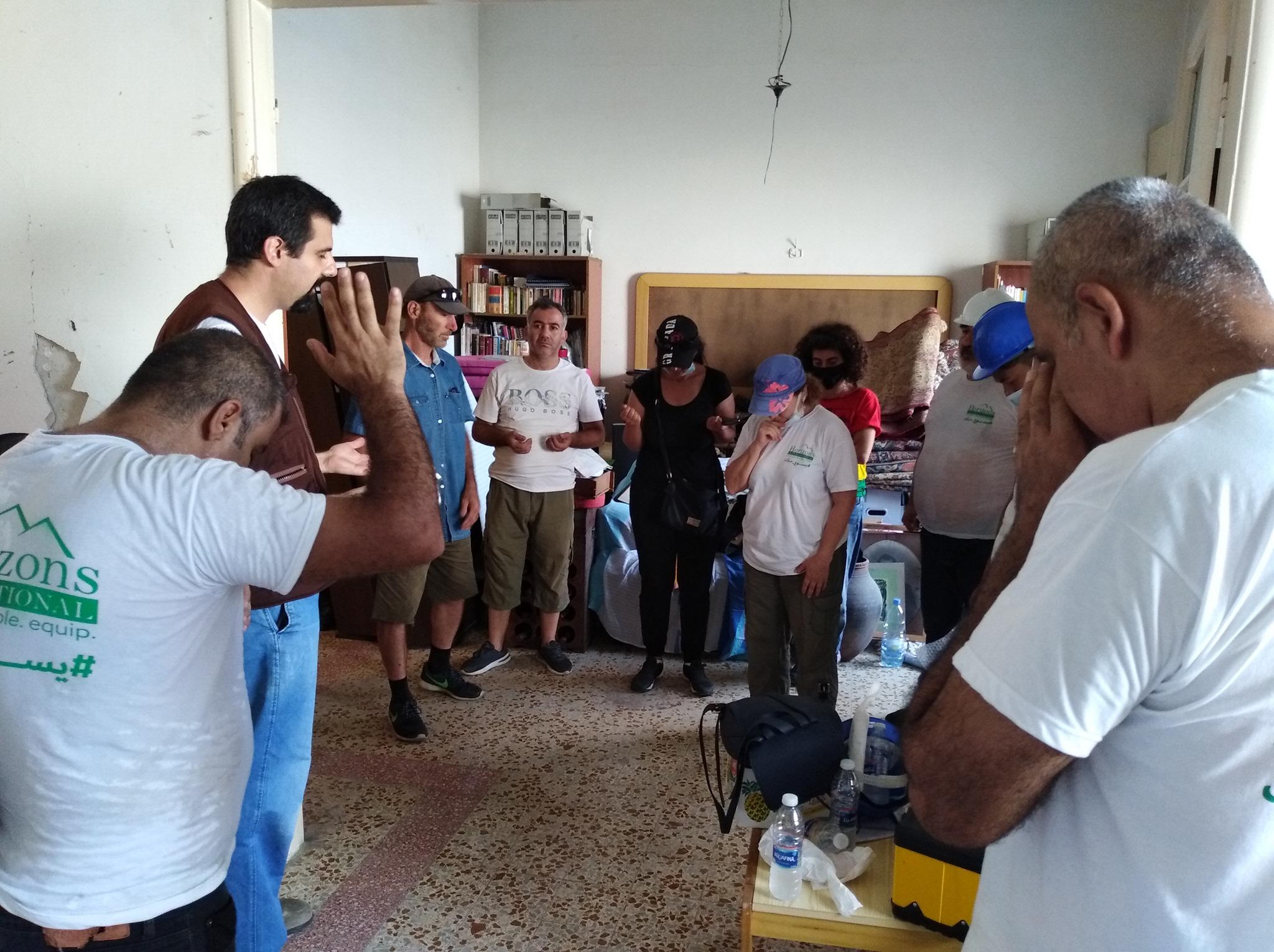 Horizons International Continues to Aid Lebanon's Churches in Bringing Hope amid Crisis