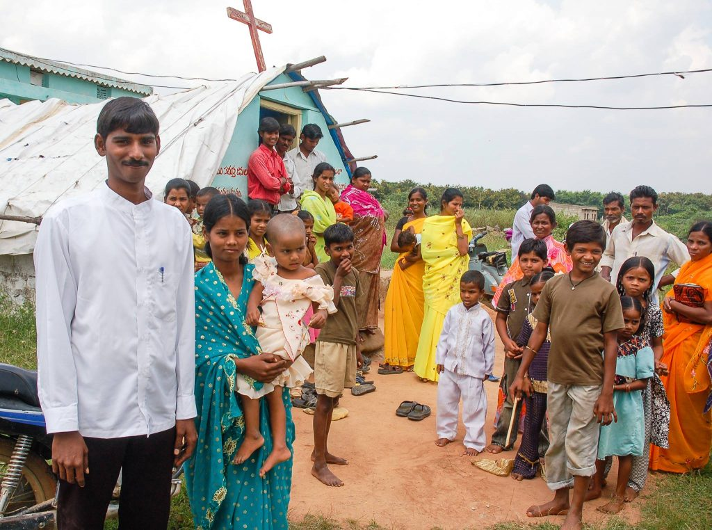 U.S. Churches Helping Plant Churches in India through Mission India