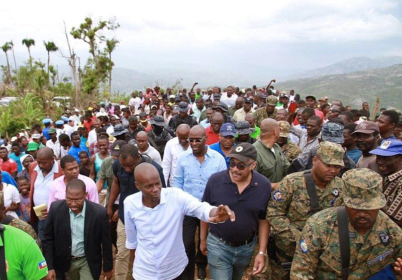 Funeral held for assassinated Haiti president