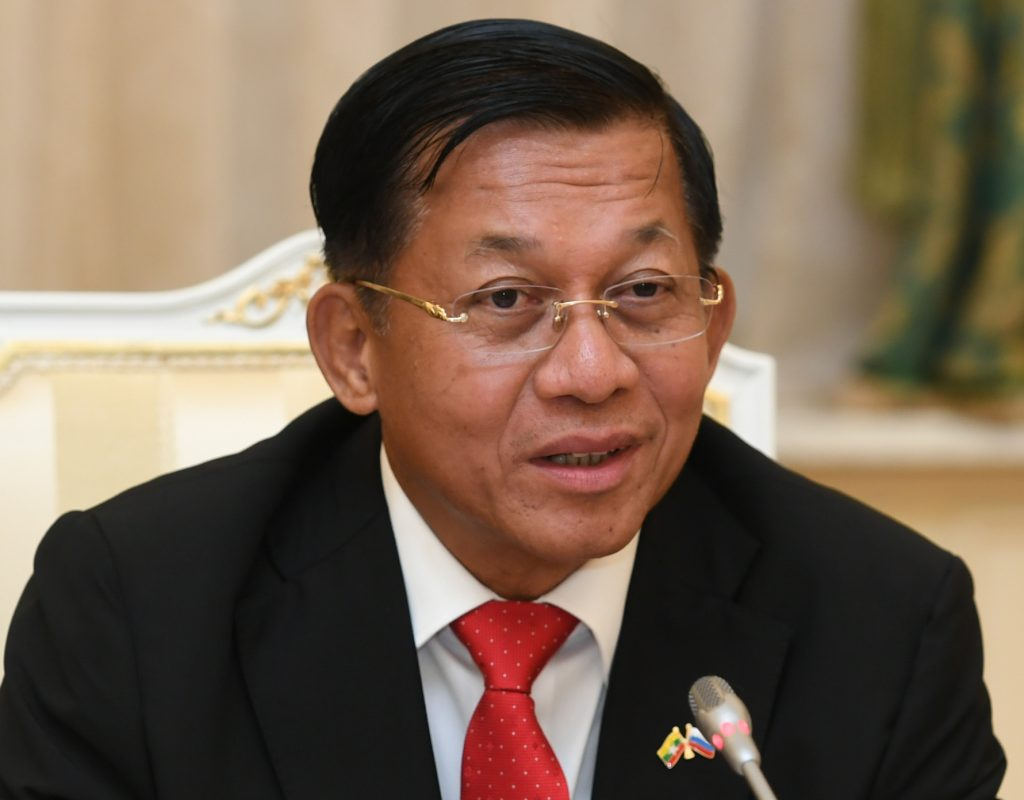 Myanmar Coup Leader Declares himself Prime Minister and Says Military Rule, and the State of Emergency