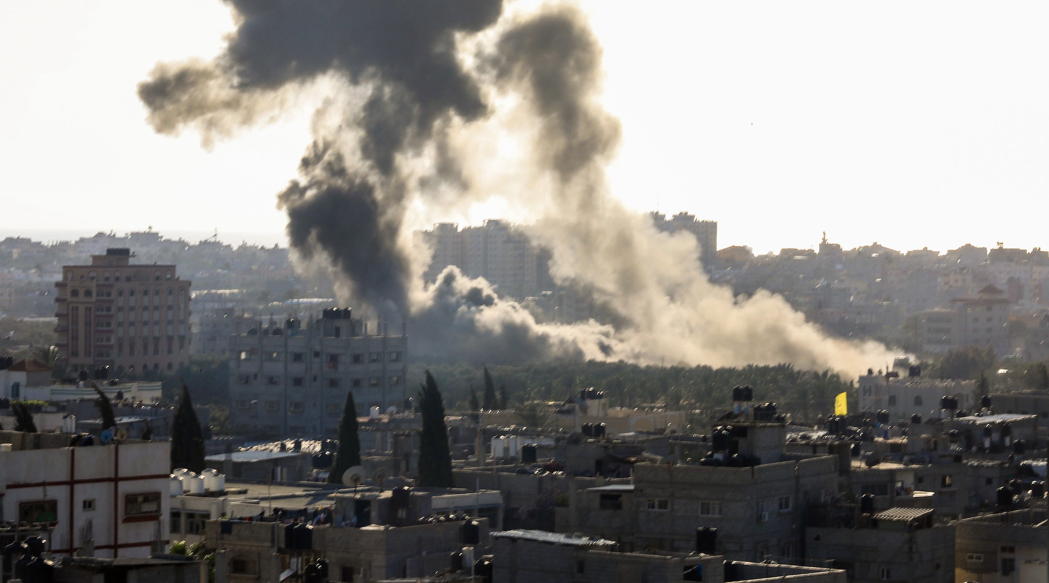 Rocket fire reignites Holy Land conflict