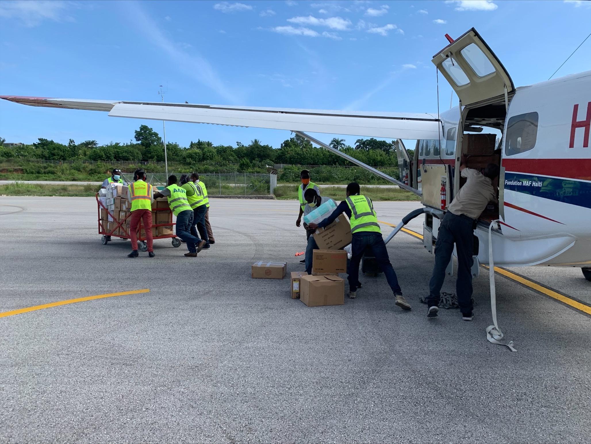 mission aviation fellowship, haiti