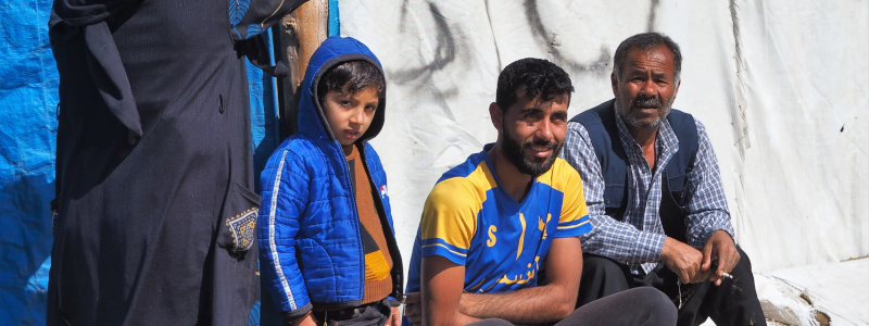 Syrian refugee receives desperately needed miracle