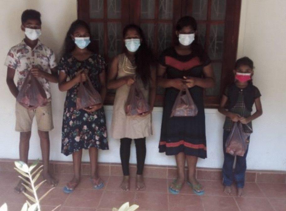 Sri Lanka partnership delivers aid in the name of Jesus