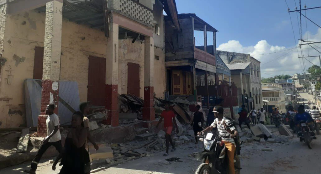 Haiti's starving North deprived of aid after earthquake