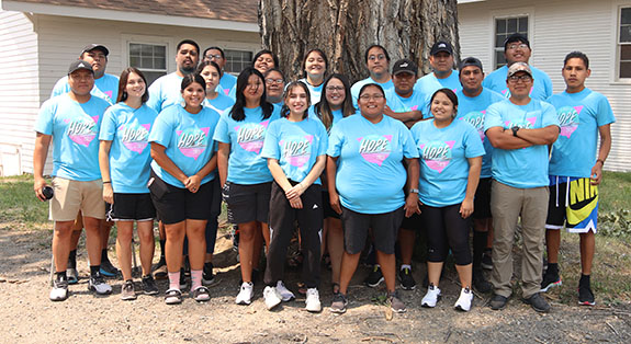 21 Native warriors for Summer of Hope 2021
