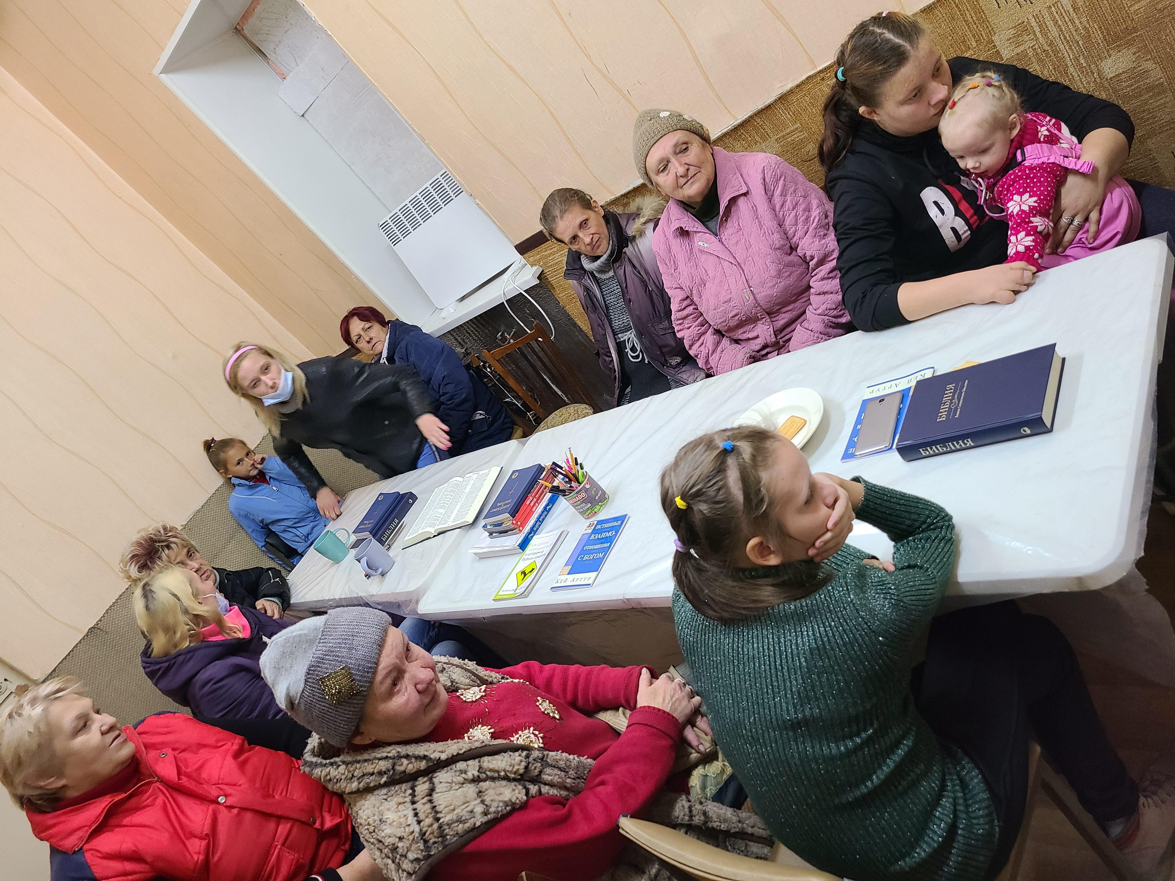 Churches grow in Ukraine war zone